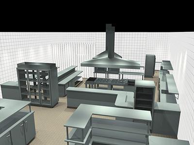 Projeto de Cozinha Industrial
